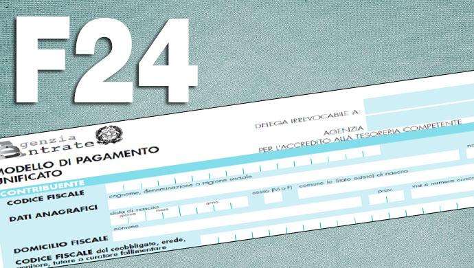 Invio telematico F24